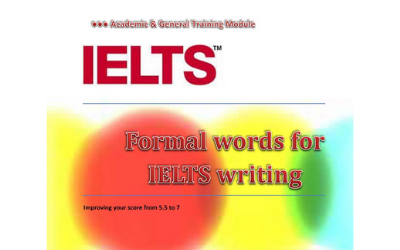 IELTS Academic Words – Nouns