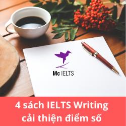 IELTS WRITING: 4 SÁCH CỰC HAY ĐỂ NÂNG ĐIỂM