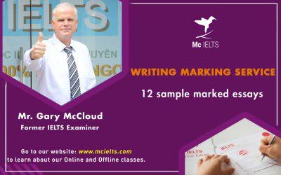 Gói chấm bài IELTS Writing Online